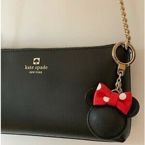 kate spade Accessories - 🆕Kate Spade x Disney Minnie Mouse Key & Bag Charm